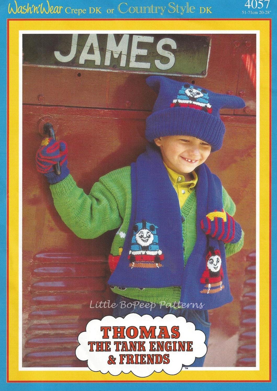 Thomas Knitting Pattern : Thomas The Tank Engine Knitting Pattern Childs Hat by ...