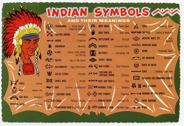 Native American Indian Symbols Tattoos