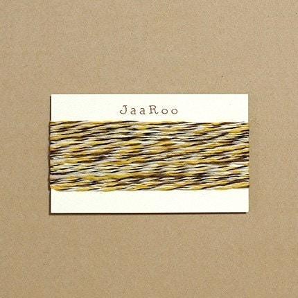 Yellow Wool String