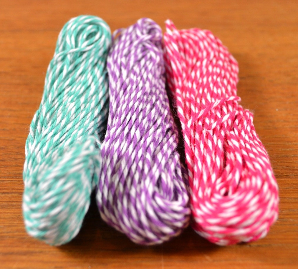 45-yard assortment of Twinery cotton baker's twine