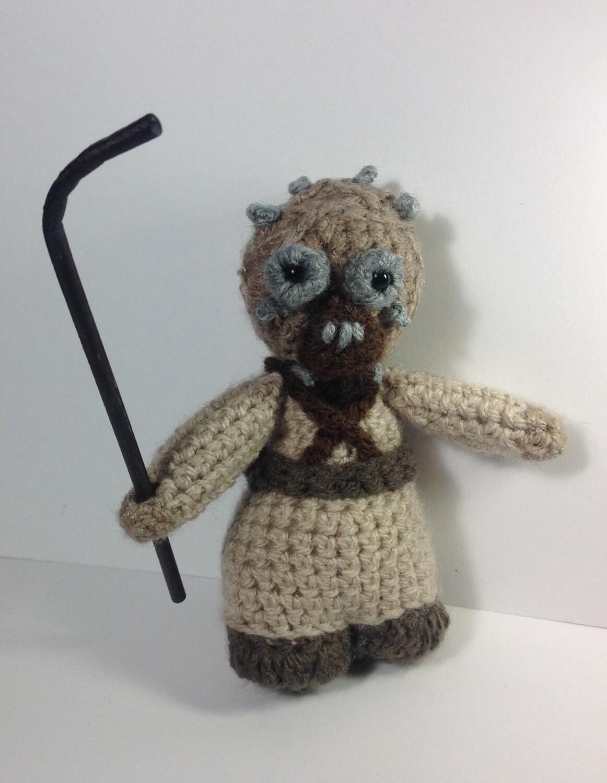 NEW! Tusken raider  sandpeople !Star Wars inspired crochet character