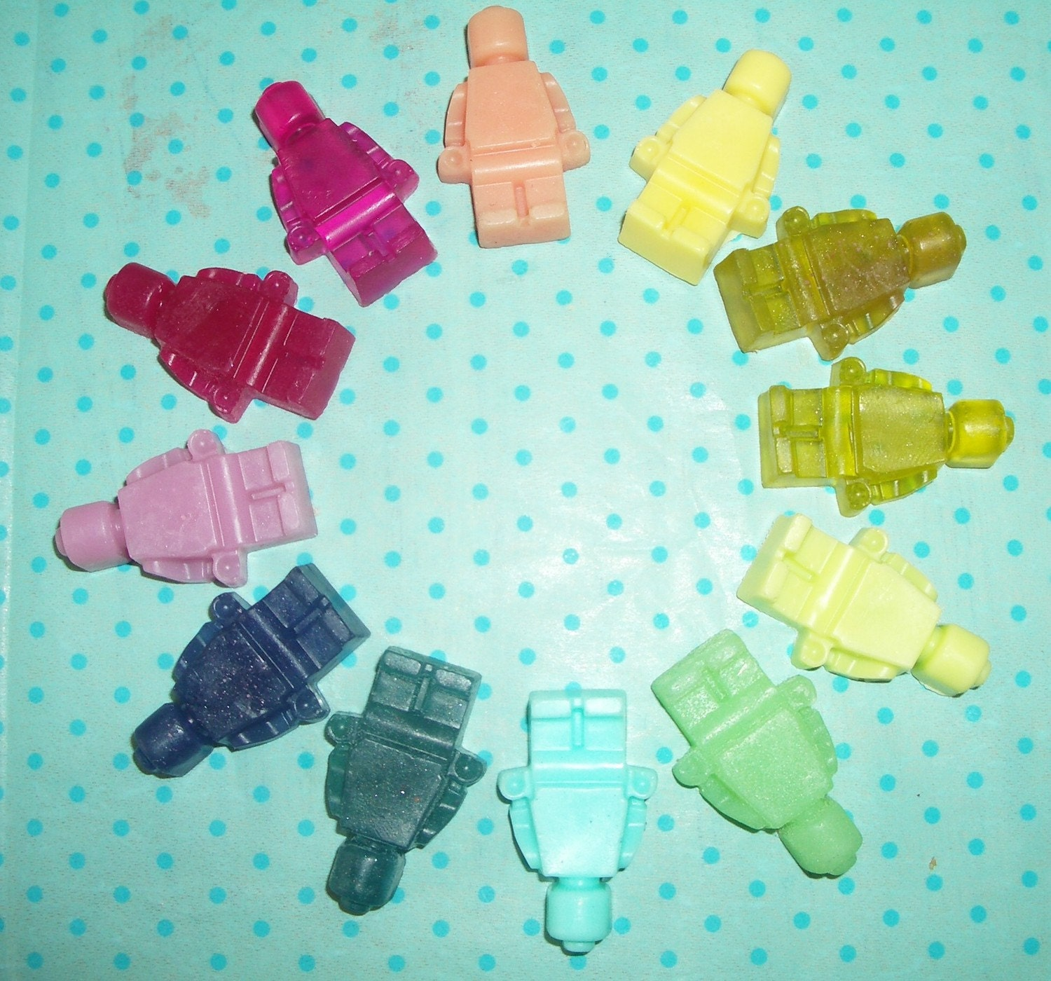 Brickman Mini Soaps Set of 12. - Pick Your Colors and Scents