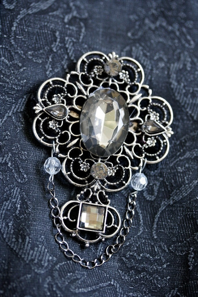Gothic Gem Pin