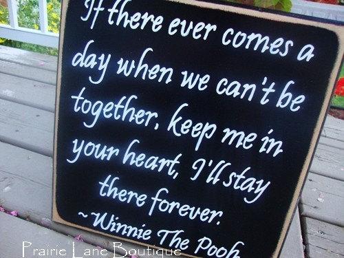 winnie the pooh quotes. Winnie The Pooh quote 12 x 12