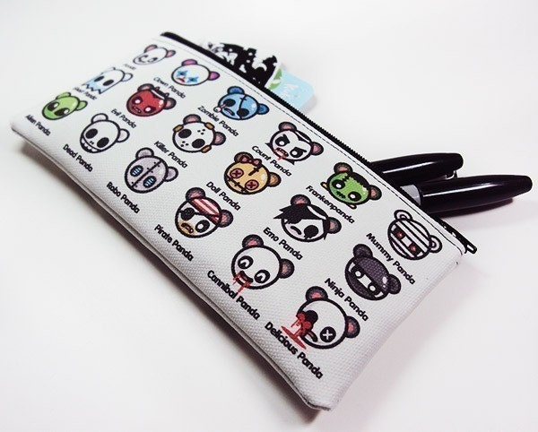 Which Panda are YOU Zipper Pouch