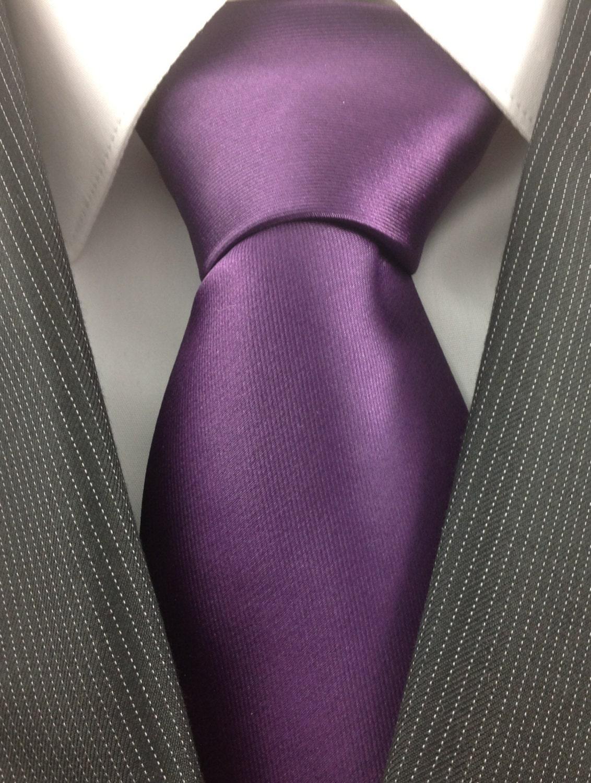 Purple Plum Necktie - TheNecktieShop