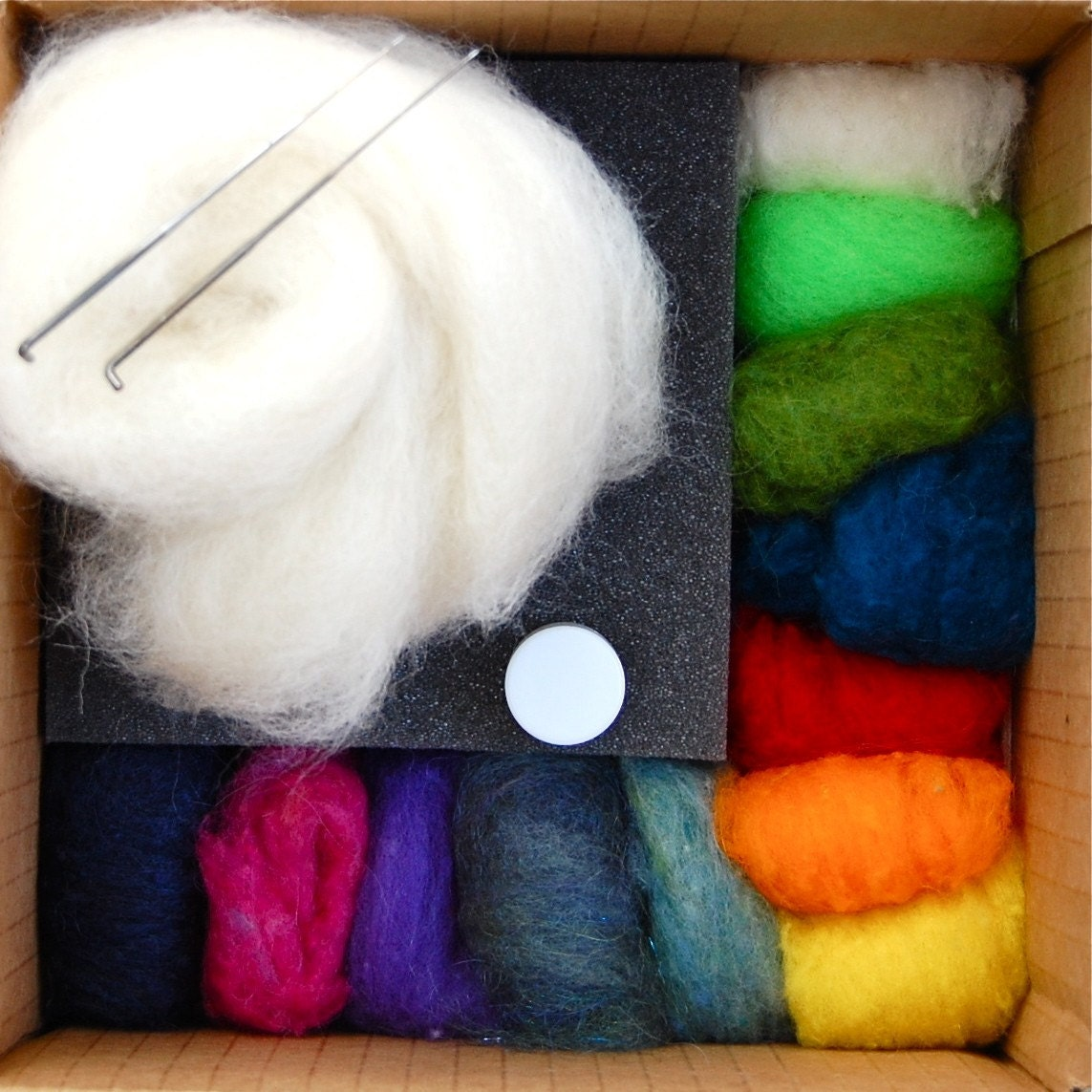 Fantastic Deluxe Needle Felting Starter Kit for Beginners Make your own Felt Toys