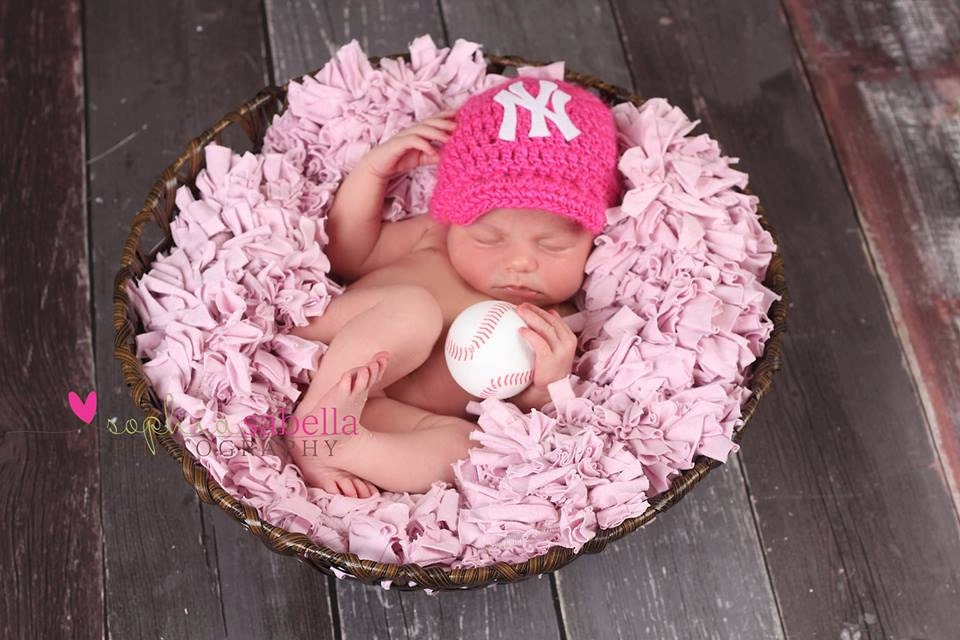 ... similar to Crochet Yankees newsboy hat & Diaper Cover newborn. on Etsy