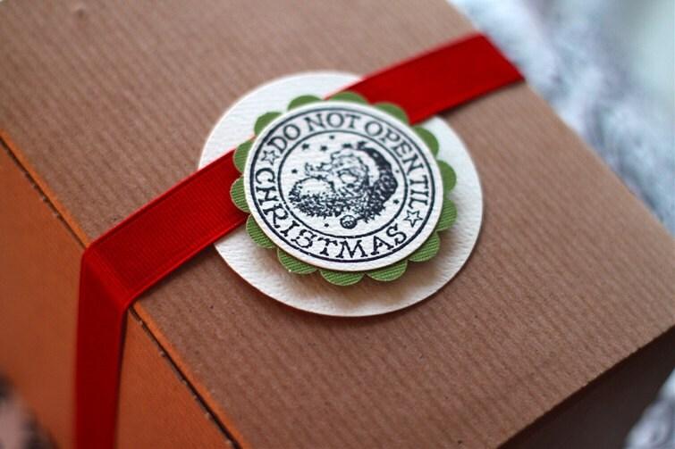 Do Not Open Til Christmas. 5 pack of gift tags.