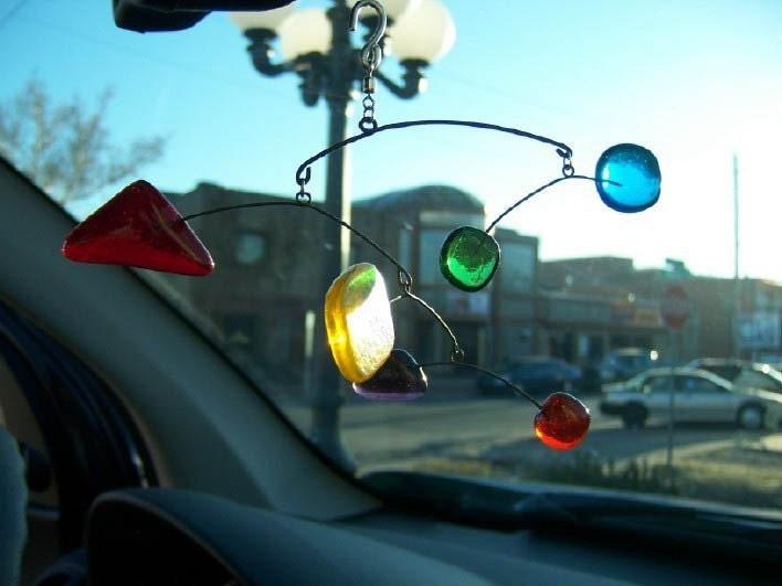 Custom Glass Car Mobile