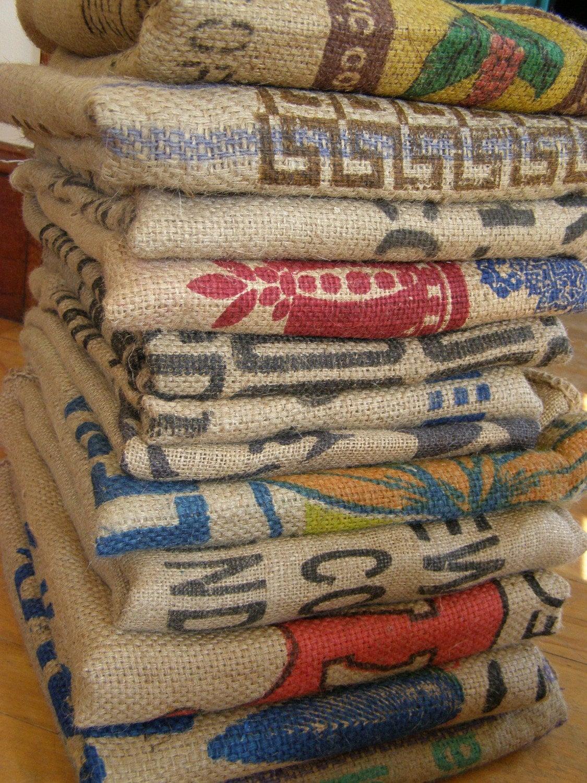 Clearance Sale Burlap Coffee Bean Bags Bakers By Redeyesupply