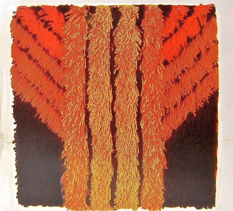 Vintage Rya Rug Pillow Wall Hanging DIY Kit By OliveandFrances