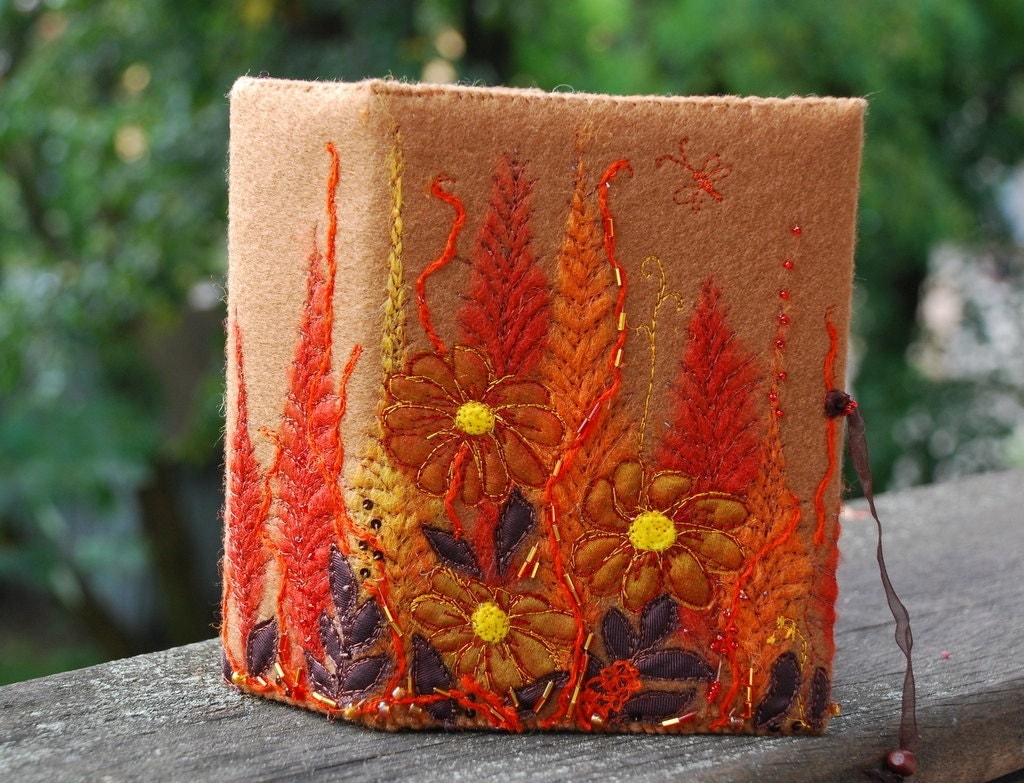 Осенний цветок Фотоальбом для 100 фотографий