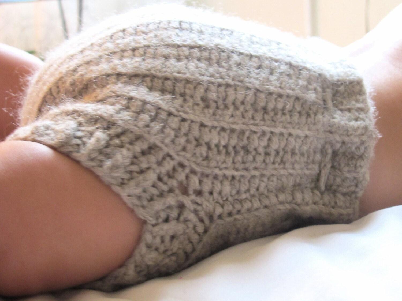 Crochet Wool Soaker