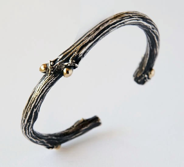 Etsy :: LaurenRamirez :: Heavy Willow Cuff