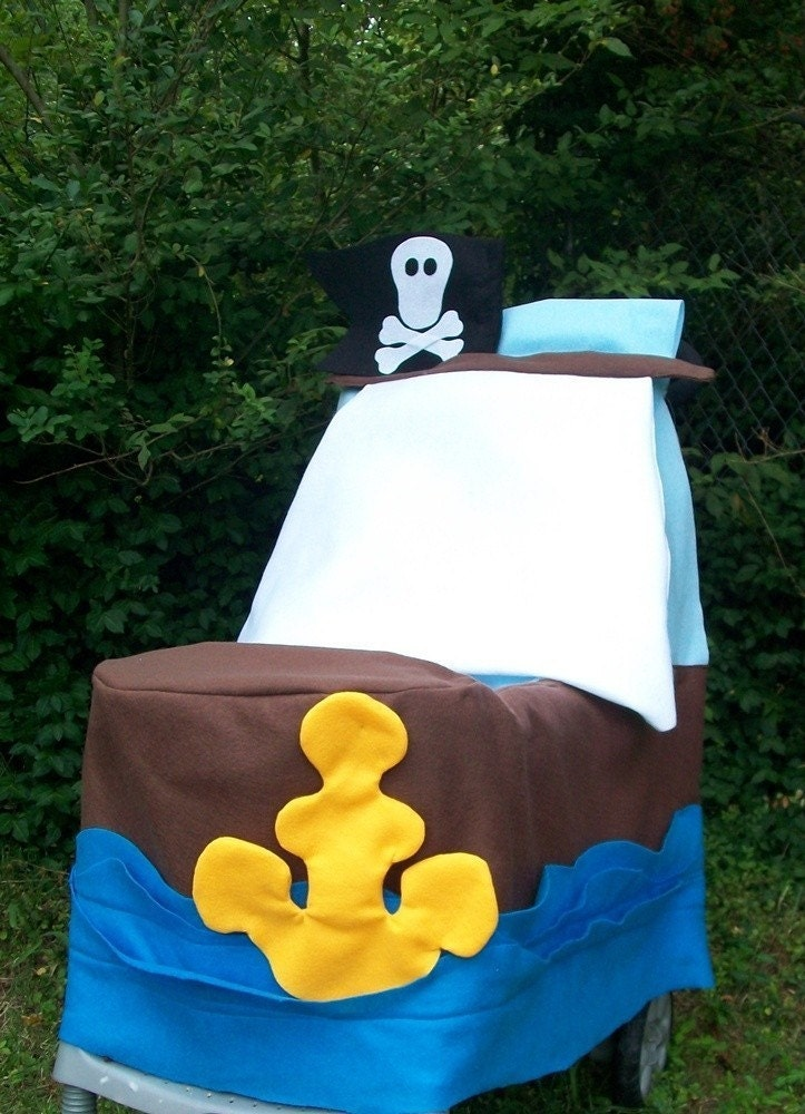Pirate stroller cover
