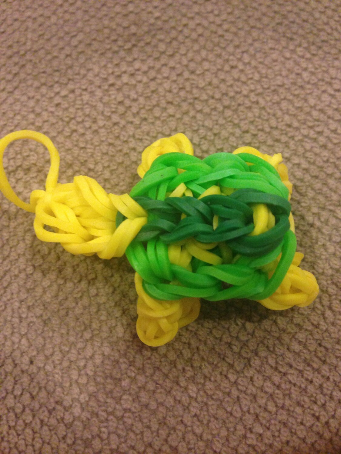 how to make a rubber band turtle
