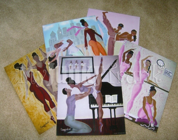 "GIFT PACK - 5 Large 16x20 Prints from ""Ballet Lessons"" Series"