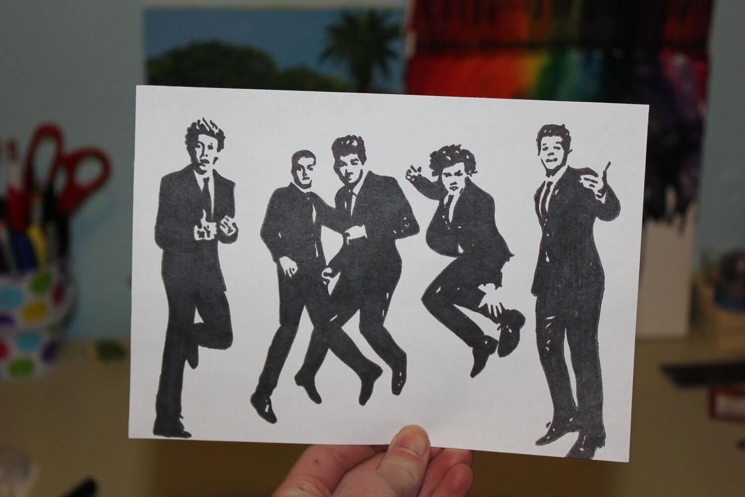 Items similar to One Direction Pop Art on Etsy
