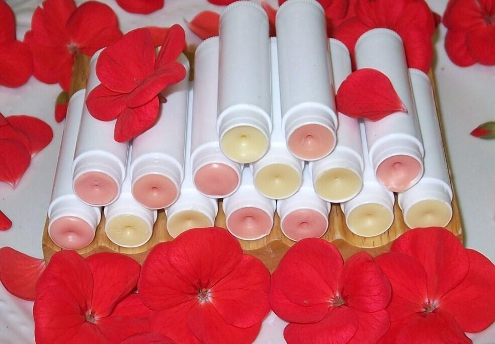 Lip Balm   Organic SPF 15 Calendula Geranium