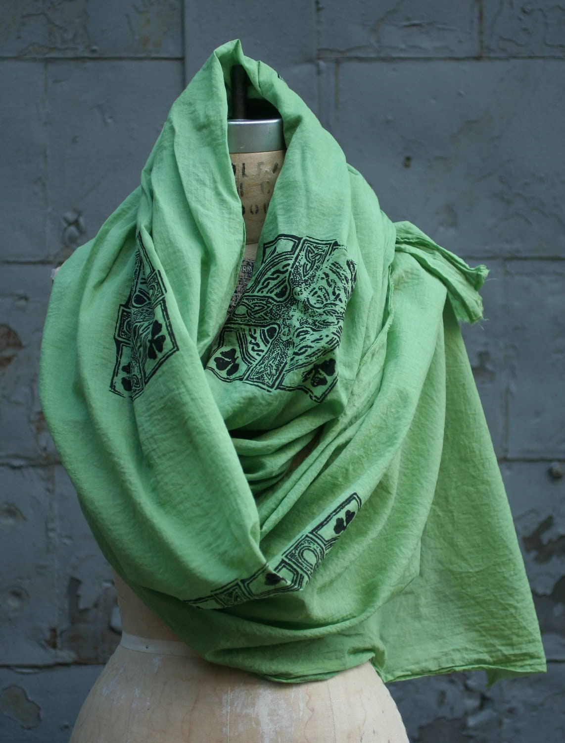 green scarf s scarves st s day by halfration