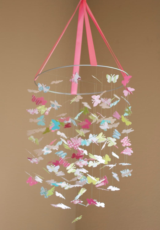 Мобили из бабочек своими руками