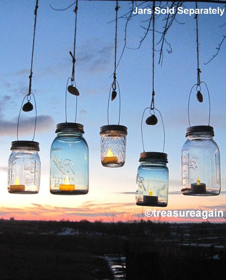 Beach Wedding Ideas Mason Jars: Seashell Mason Jar Hanger DIY Beach Wedding Mason By