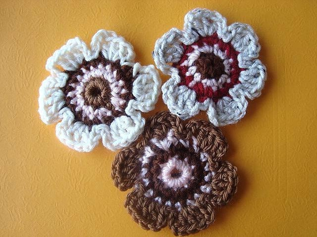 Quick Crochet Flower Pattern : crochet pattern flower quick and easy . pdf by Hectanooga
