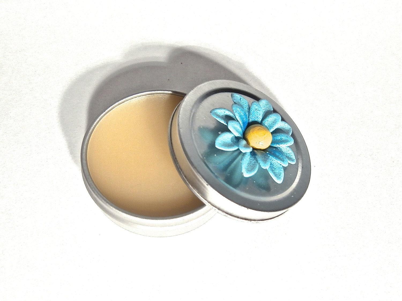 Organic Eucalyptus Healing Lip Balm // 100% Natural // Vegan // Lip Blossom - TheGreenAlchemist