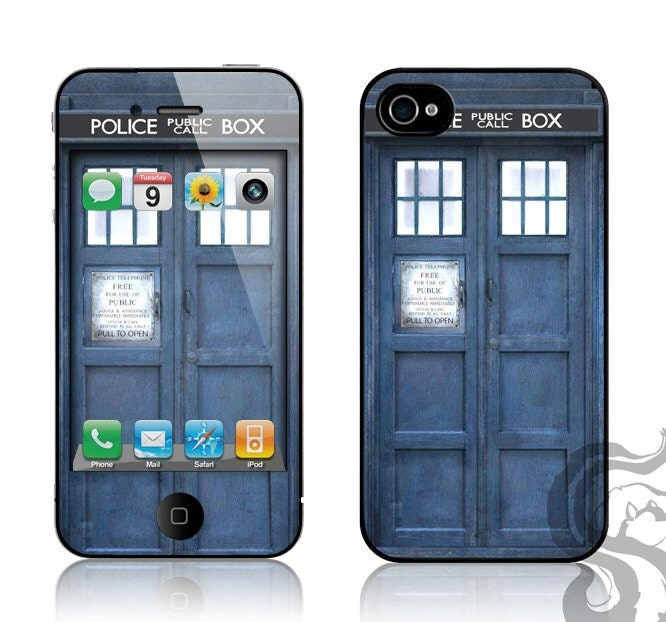 skin iPhone tardis