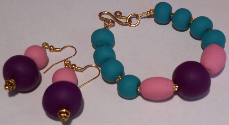 Earrings & Bracelet Set