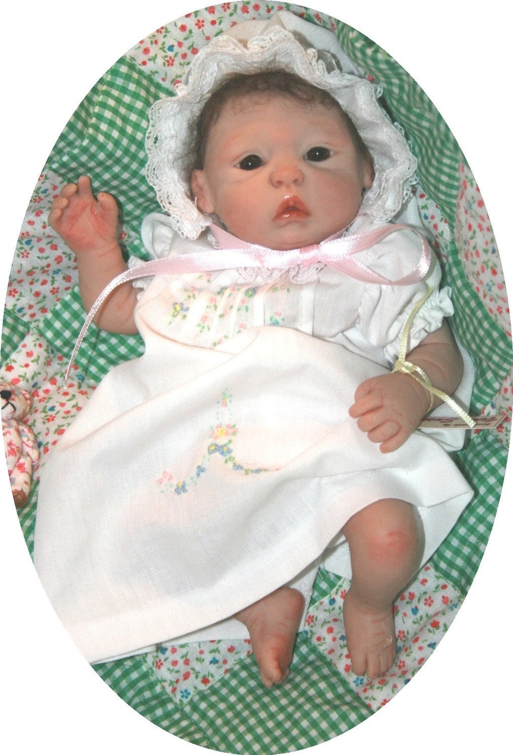 OOne of a Kind hand sculpted Baby Doll