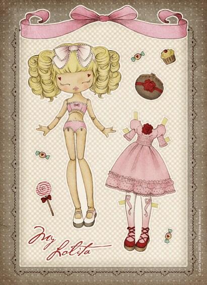 My Lolita Paper Doll