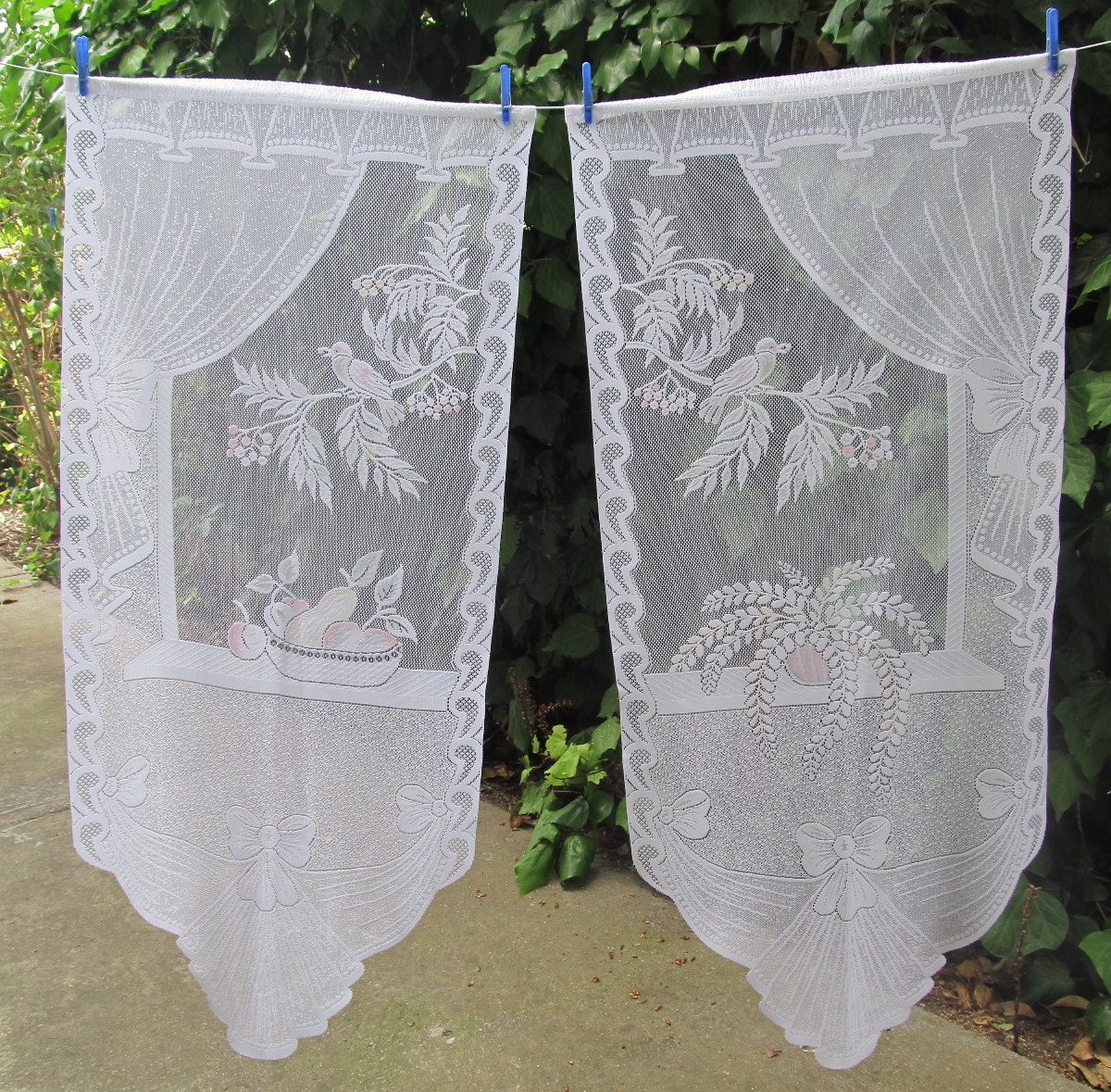 Curtain lace by the yard