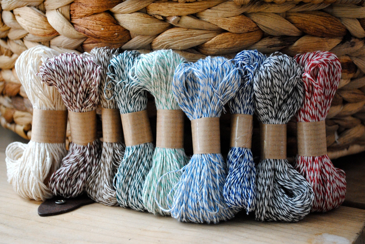 Baker's Twine Sampler- All 9 Colors...225 yards total (675 feet)