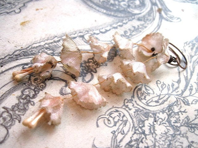 Flowering Sugar Drops. Grungy Millinery for the Ear.
