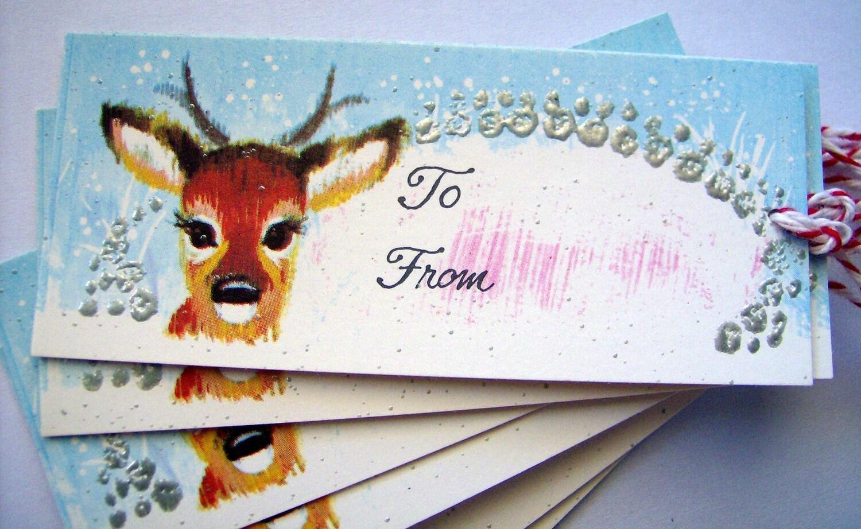 7 Vintage Gift Tags