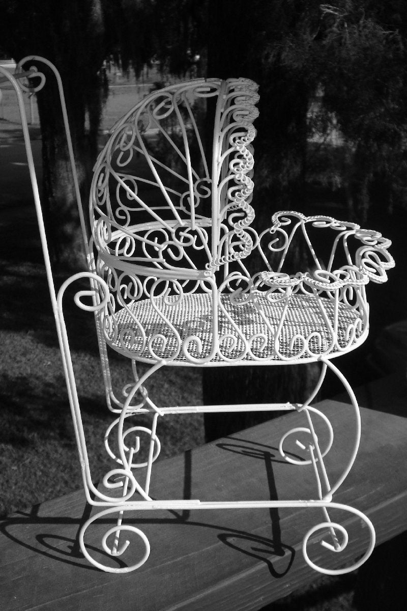 Popular items for wire baby buggy on Etsy