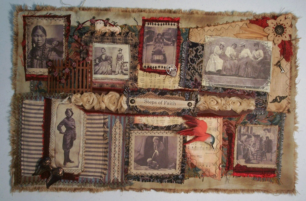 Steps of Faith Wall Hanging Collage