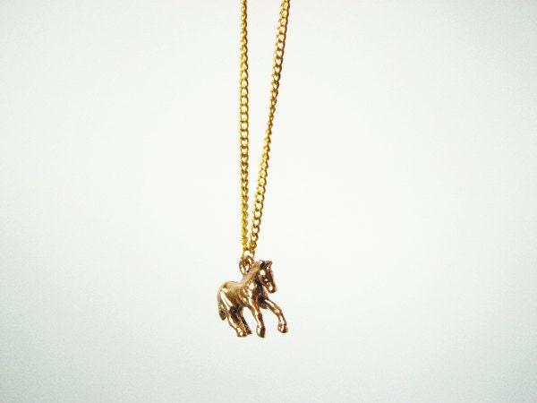 Wild Horse-necklace