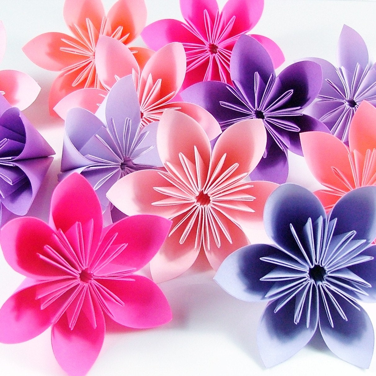 How To Make An Easy Origami Flower For Beginners