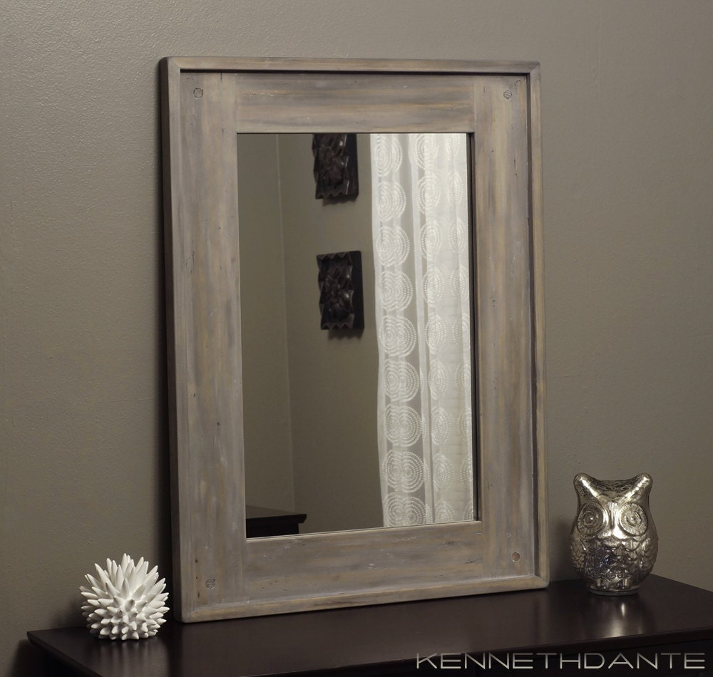 Simple Vintage Industrial With Plumbing Pipes And Wood Integrated With Mirrors For Storage Our Boxwood Wreaths  Travel Ad Life Is Short Travel The World ARTWORK ONLY