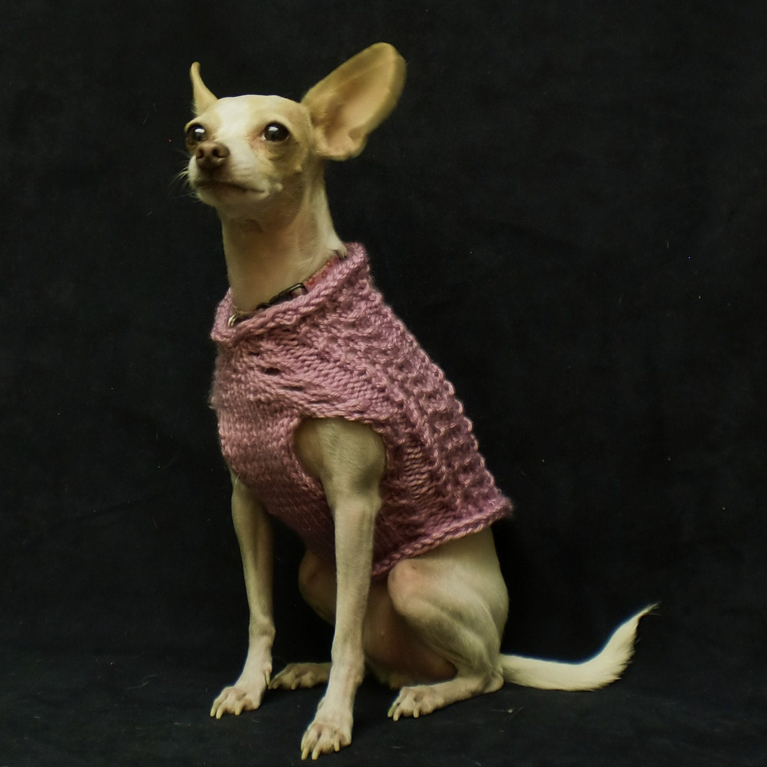 Pink Summer Dog Sweater