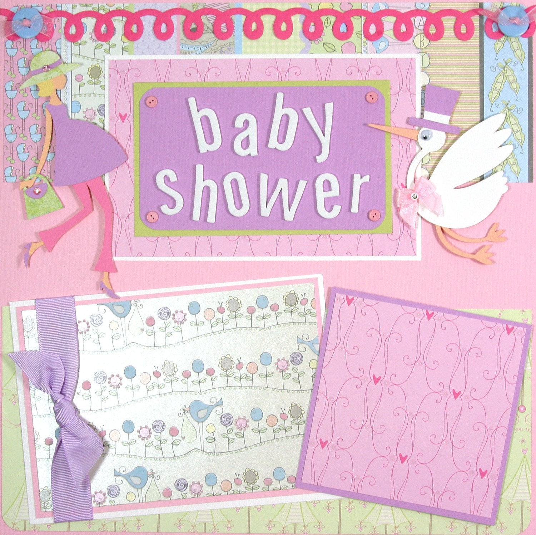 Similiar Scrapbook Page Ideas Baby Shower Keywords