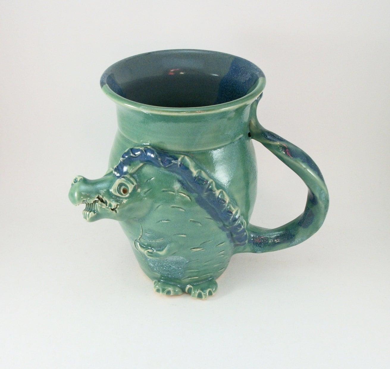 huge dragon mug