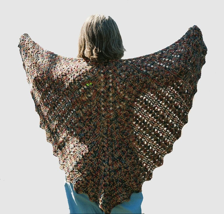 Free Crochet Pattern For Butterfly Shawl : Girlshopes