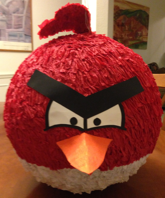 Angry bird piñata - Imagui