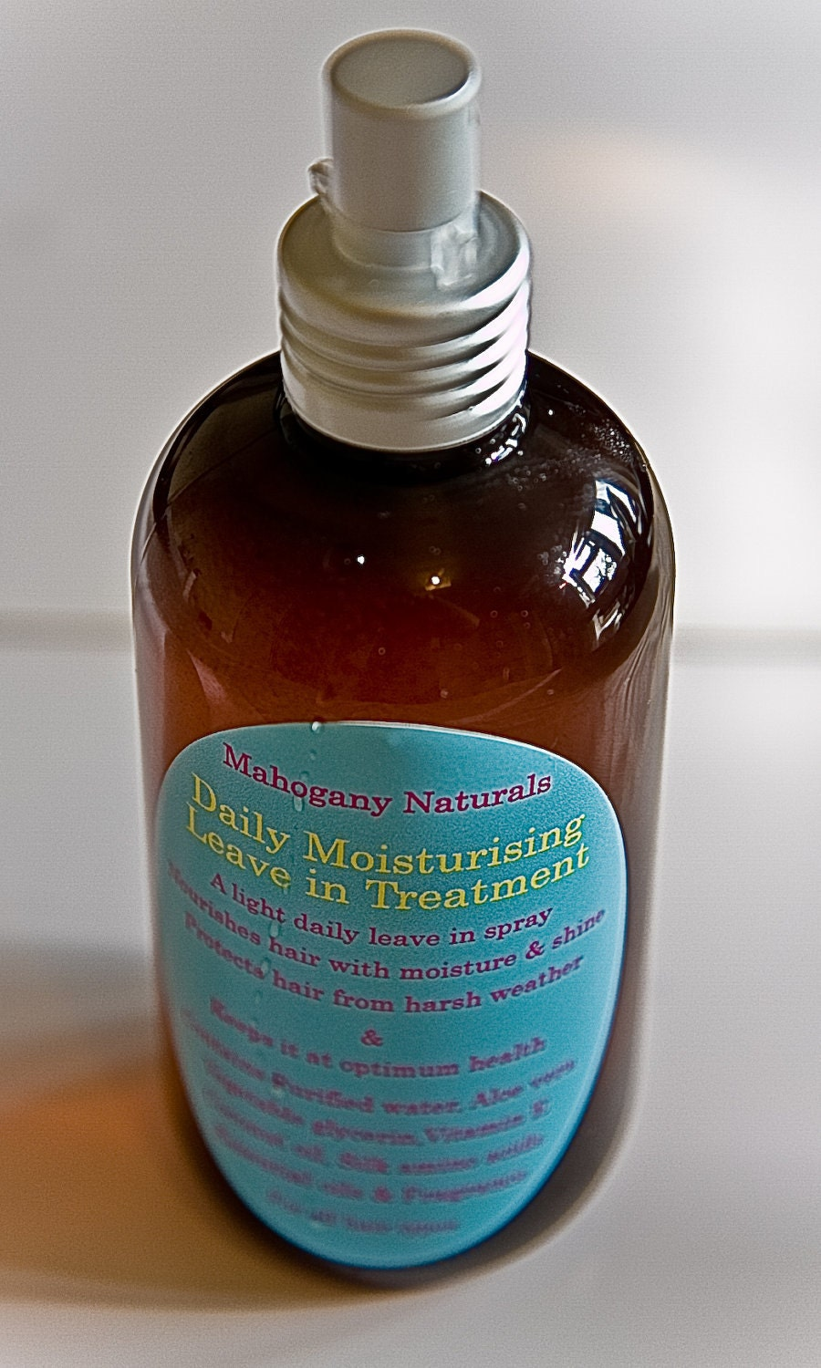 Mahogany Naturals- daily moisturising leave in treatment
