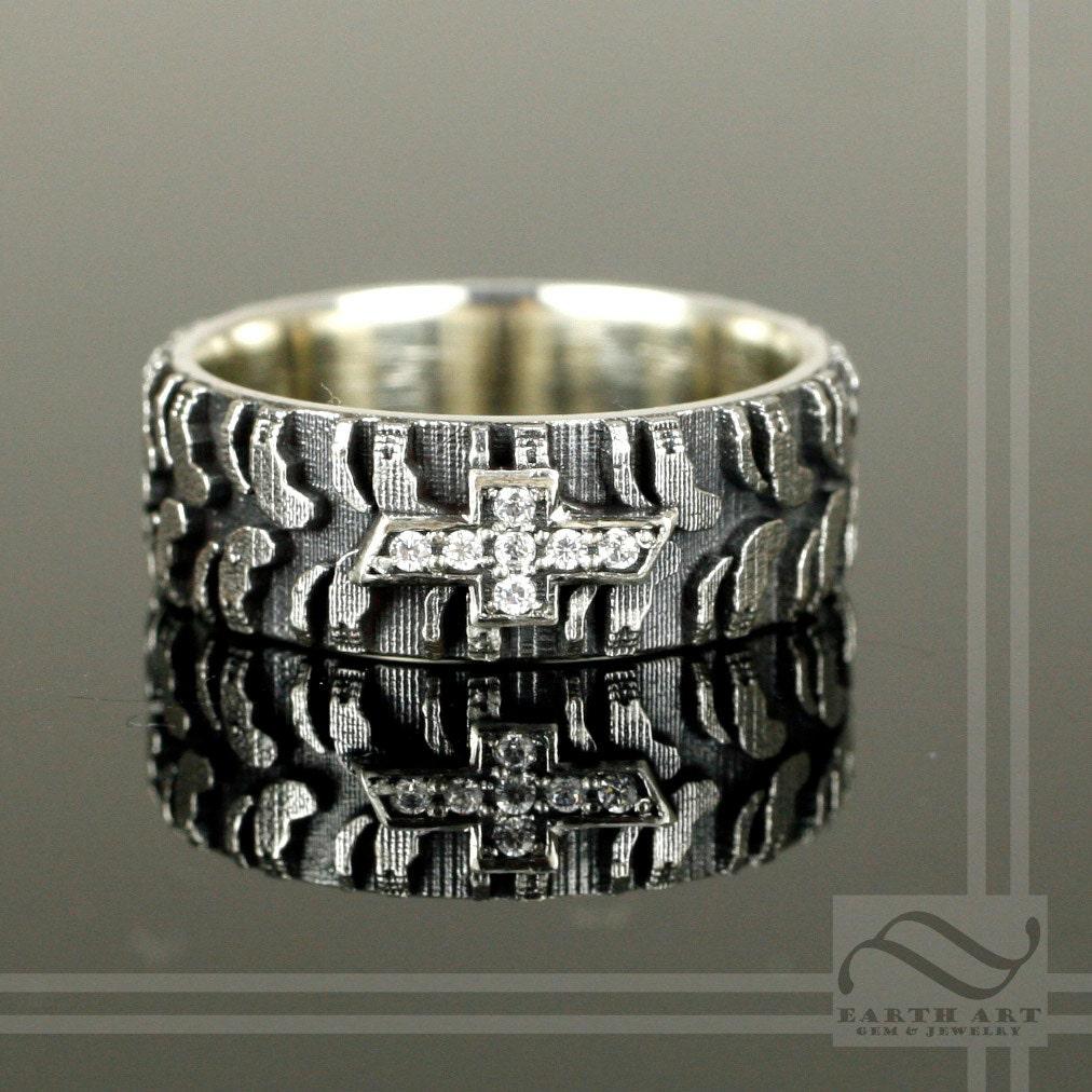 Tire Wedding Rings