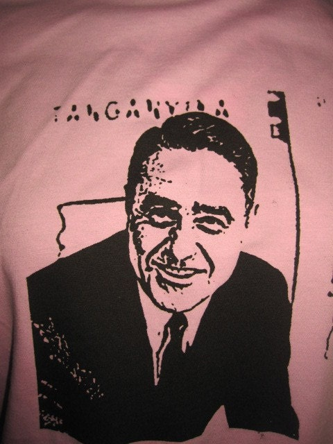 Sargent Shriver silk screened t-Shirt